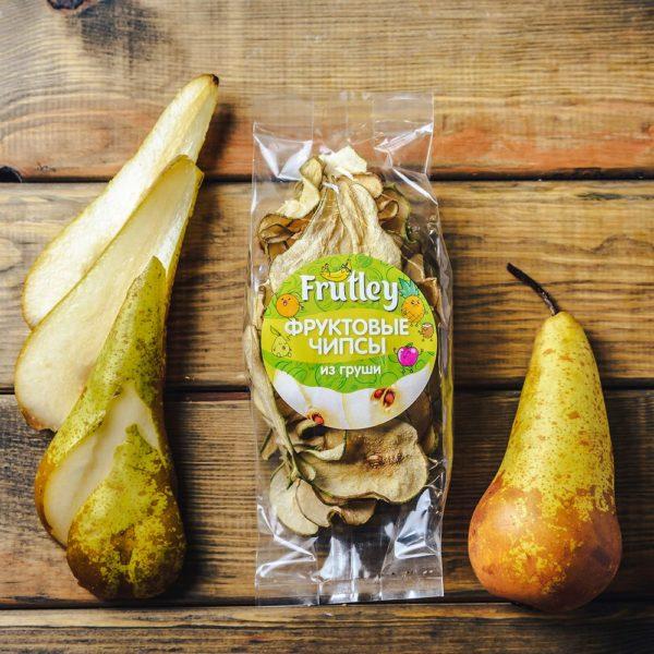 Фруктвоые чипсы из груши Frutley